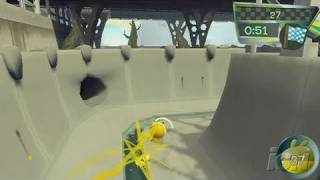 de Blob Nintendo Wii Video - Rocket Bike Race