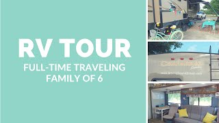 Gambar cover RV TOUR: Full-Time Traveling Family of 6