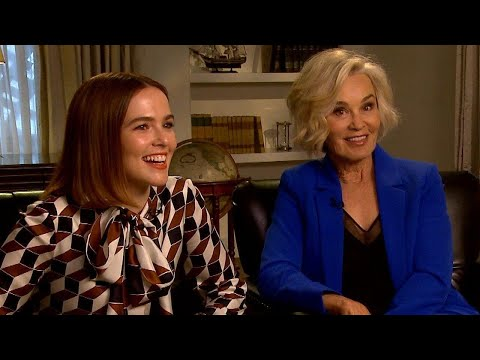 The Politician: Jessica Lange and Zoey Deutch Loved Those CRAZY Scenes in Olive Garden (Exclusi…