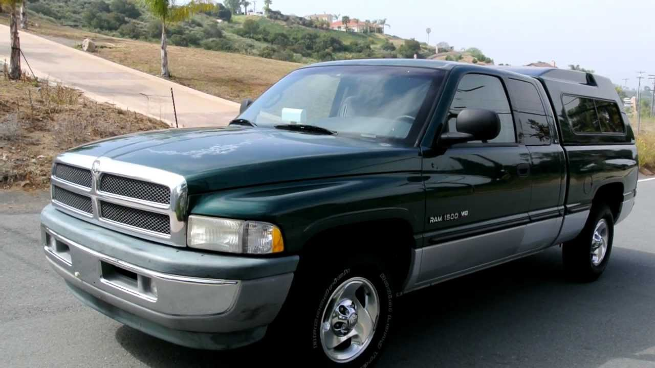 Dodge Ram 1500 Laramie Slt Club Cab 4 Door 93k Orig Miles V8 Hemi Mopar 1 Owner Pickup Youtube