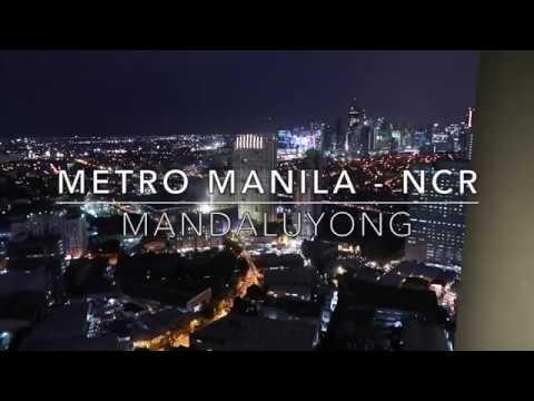 Mandaluyong City Lights Metro Manila EDSA MRT BGC & Makati views SMDC SMLight Philippines