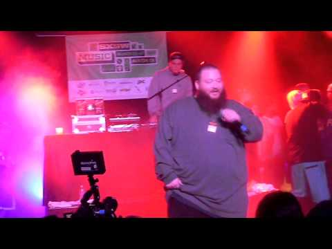 Action Bronson - Bird On A Wire ft/ Riff Raff (Live 3-15-2013 @ SxSw)
