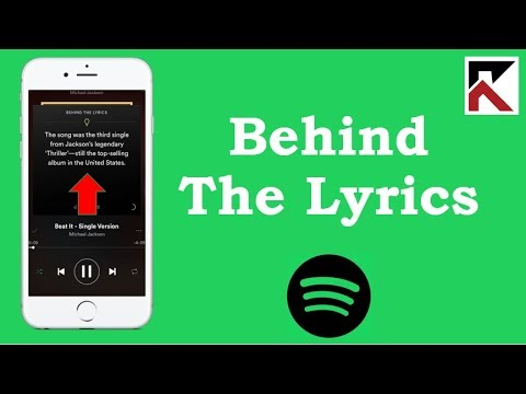 How To Find Song Lyrics Spotify