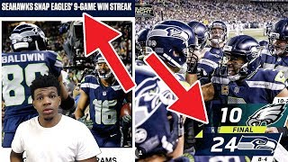 RUSSELL WILSON DESTROYED THE EAGLES !! Eagles vs. Seahawks| NFL Week 13 Game Highlights (reaction)