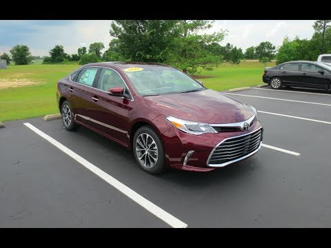 2018 Toyota Avalon Xle Full Tour Start Up At Mey