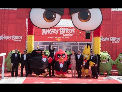Angry Birds Celebrates The Opening Of The Cannes Film Festival!