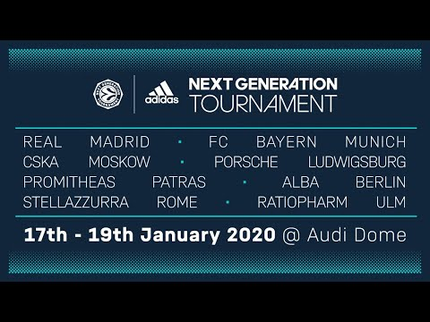 Elegibilidad legación taza  RE-LIVE: Euroleague Basketball Adidas Next Generation Tournament 2020    Audi Dome, Munich   Day 3 - YouTube