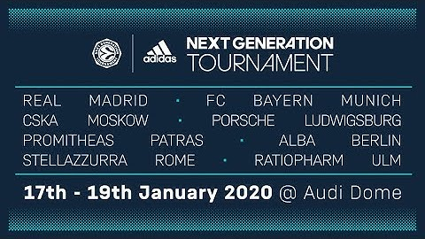 RE-LIVE: Euroleague Basketball Adidas Next Generation Tournament 2020 | Audi Dome, Munich | Day 3