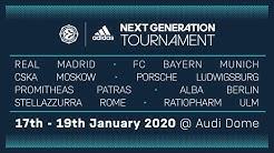 RE-LIVE: Euroleague Basketball Adidas Next Generation Tournament 2020 | Audi Dome, Munich | Day 3