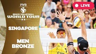Singapore 2-Star - 2018 FIVB Beach Volleyball World Tour - Men Bronze Medal Match