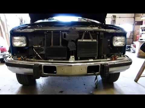 1990-98 Chevrolet C/K Pickup Grille & Headlights Swap