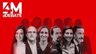 #DebateTelemadrid: En directo, debate de candidatos a las elecciones de la Comunidad de Madrid