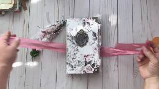 New junk journals made with Prima Marketing Papers.