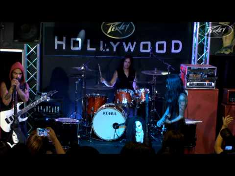 Eyes Set To Kill - Live From Peavey Hollywood - shot on sharp eye HD Go In Live