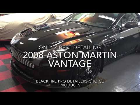 Only Z Best Detailing-2008 Aston Martin Vantage Roadster-Blackfire Pro Detailer's Choice Products