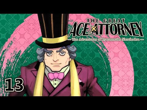 THE GOOD SAMARITAN - Let's Play - The Great Ace Attorney (DGS) - 13 - Walkthrough And Playthrough