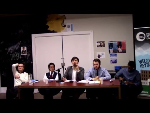 HSU Elections 2016 - President and VPA Hustings (part 1)