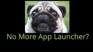 Chrome App Launcher is going away...