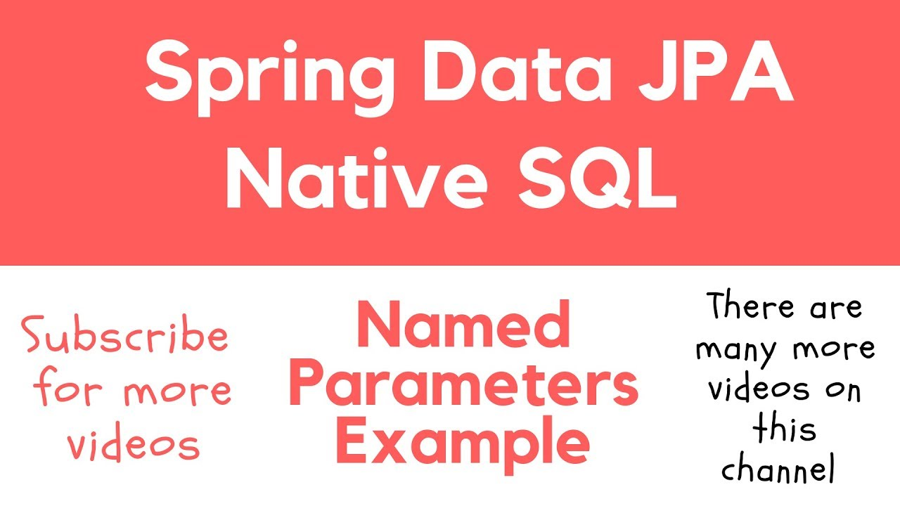 Spring Data JPA Native SQL Query - Apps Developer Blog