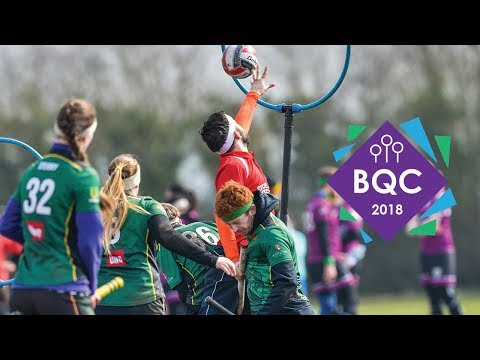 BQC 2018 - Bangor Broken Broomsticks vs Southampton Quidditch Seconds