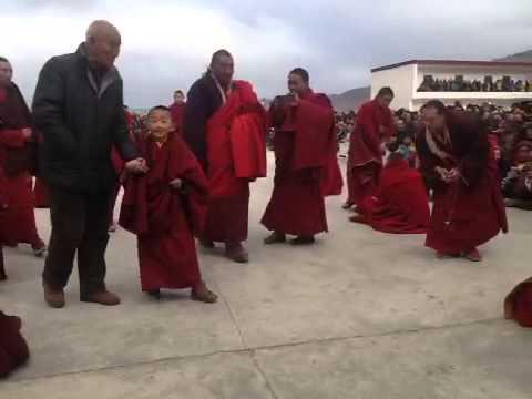 DS high lama in tibet... visit... 2015