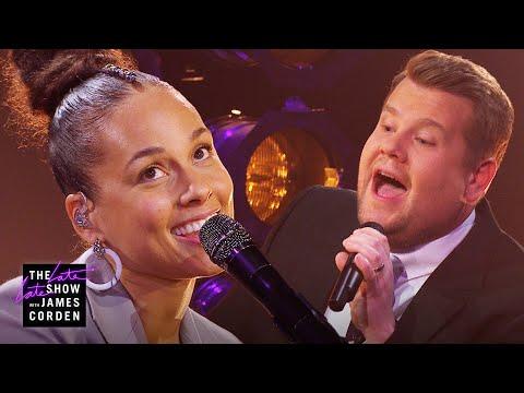 A Grammy Host Is Born - 'Shallow' Parody w/ Alicia Keys