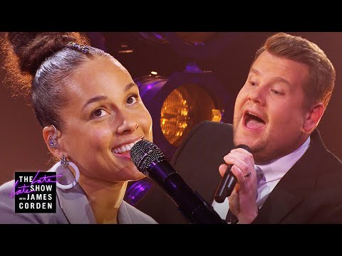 Chris Davis - Alicia Keys and James Corden Moving and Fun Parody of 'Shallow'