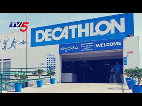 France Company Decathlon's New Sports Store in Medchal | Hyderabad | TV5 News
