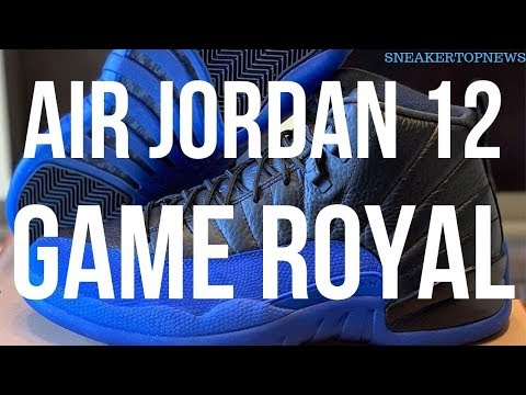 "Air Jordan 12 ""Game Royal"" Is Releasing On September 21st"