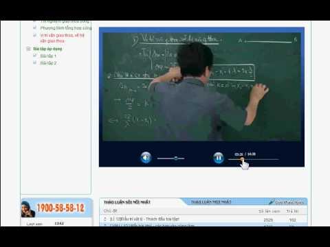 Hướng dẫn học bài giảng Hocmai.vn