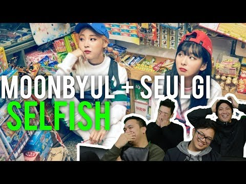 "MOONBYUL & SEULGI Want To Be ""SELFISH"" (MV Reaction)"