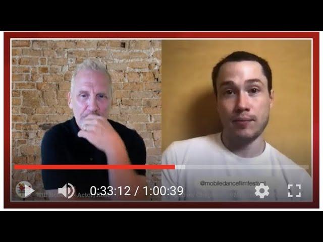 Film Festival Livestream: Alex Guarino Founder X World Short  & Andrew Chapman of Mobile Dance FF.