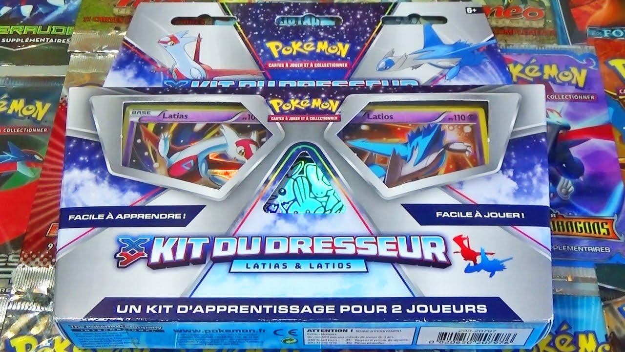 Pokémon  XY  Kit dresseur  Latios  Français Pokémon Grandes