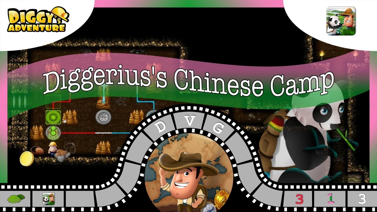 China Main Map 3 Diggeriuss Chinese Camp Diggys Adventure