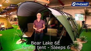 Outwell Bear Lake 6E Tent | Innovative Family.  sc 1 st  Get Out With The Kids & Outwell Bear Lake 6É - It looks like a canvas tent but is it ...