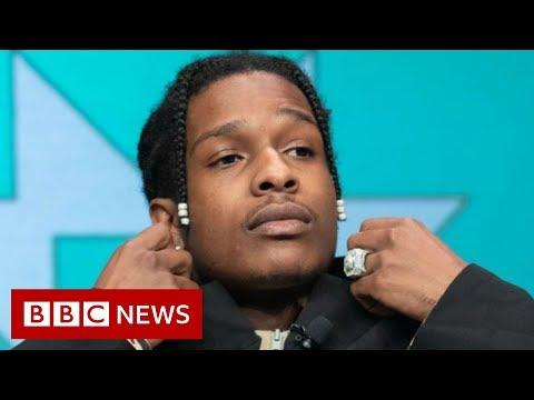 ASAP Rocky found guilty of assault - BBC News
