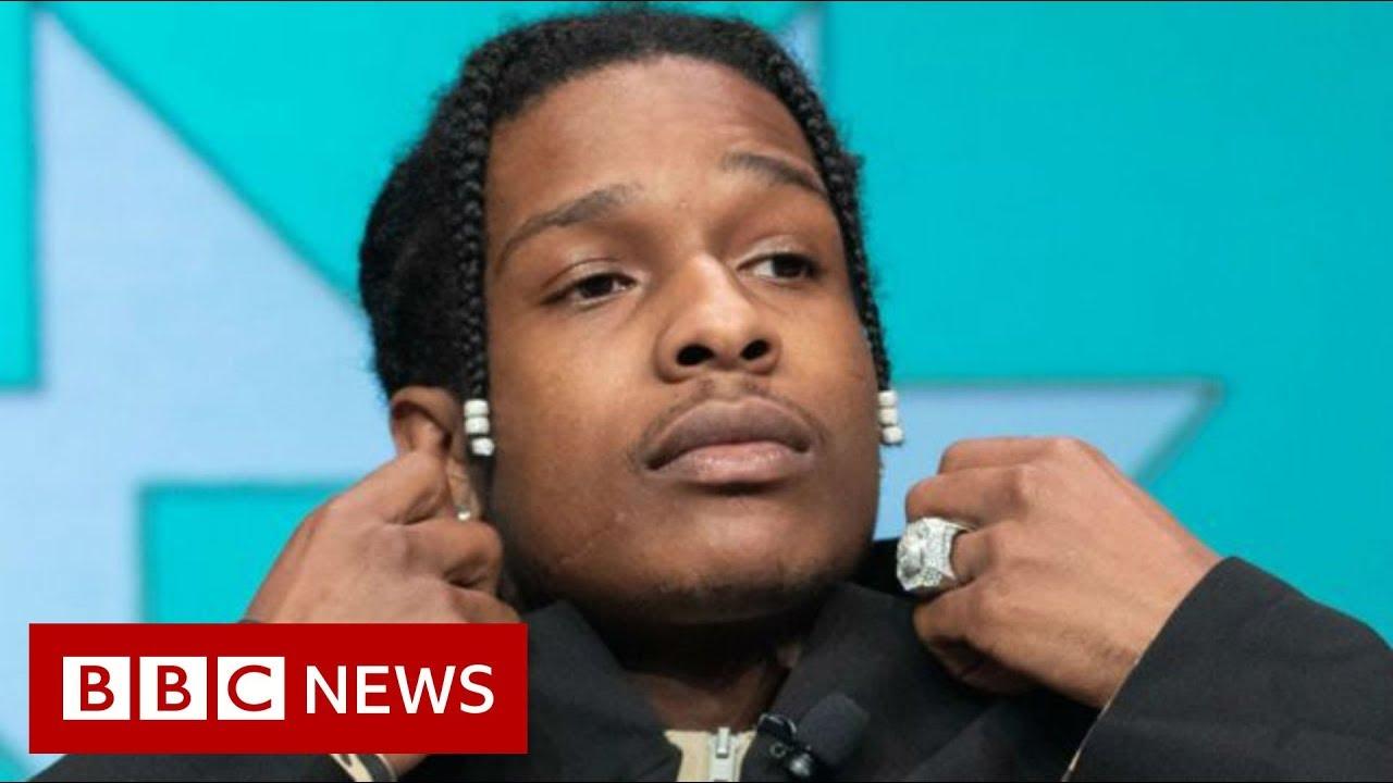 BBC News:ASAP Rocky found guilty of assault - BBC News