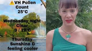 Nev G's London Weather Summary Wednesday 26th June 2019