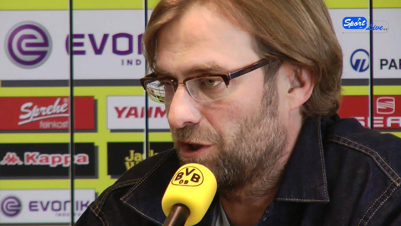 Borussia Dortmund - VfB Stuttgart : Pressekonferenz zum Spiel mit Jürgen Klopp (Teil 2)