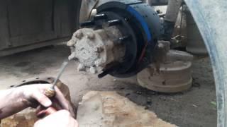 Наклёпка и установка тормозных колодок!!!