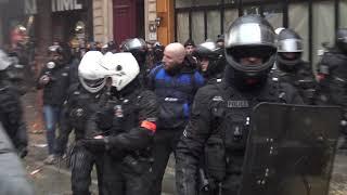 Grève 5 décembre : tensions et incidents perturbent la manif (5 décembre 2019, Paris)