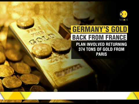 Germany's gold back from France