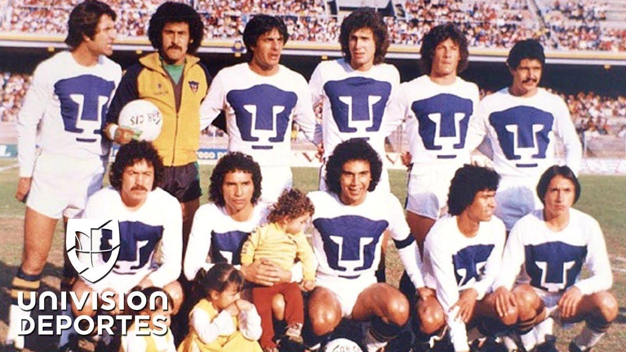 online retailer 0d631 8650e El Baúl de los Recuerdos: el segundo título de Pumas, de la mano de Hugo  Sánchez y Ferretti