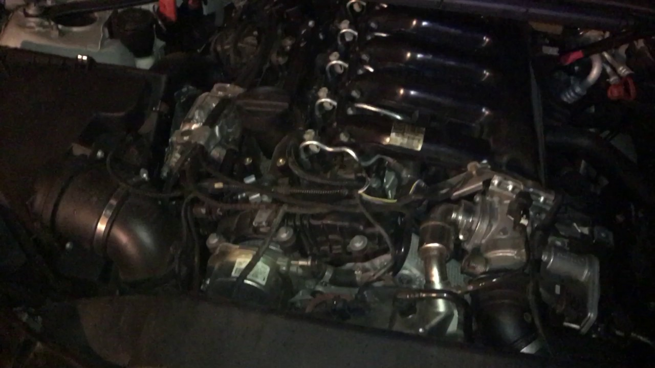 bmw 335d engine bay turbo oil line leaking youtube rh youtube com
