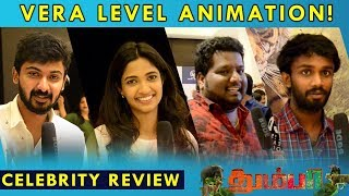 Thumbaa Public Review   Celebrity Review   Preview Show   Virtual Santhai