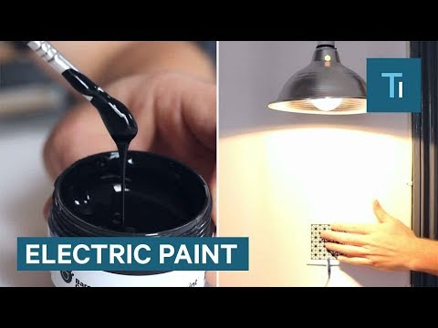 Electricity-Conducting Paint Lets You Paint Switches On Walls