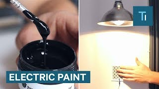 This Electricity-Conducting Paint Lets You Paint Switches On Walls