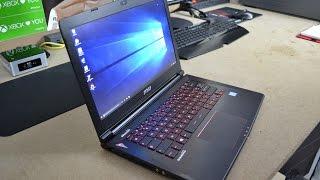 Test du MSI GS40, le PC portable Gamer ultra-portable !