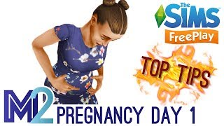 Sims FreePlay - Pregnancy Event Day 1 of 9 (Walkthrough)
