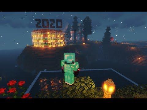 minecraft-~-making-simple-firework-redstone-to-greet-2020
